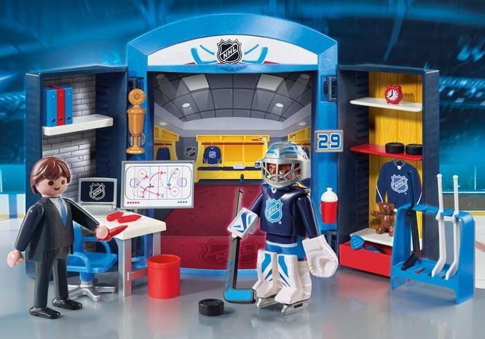 NHL hrací box 9176 Playmobil Playmobil