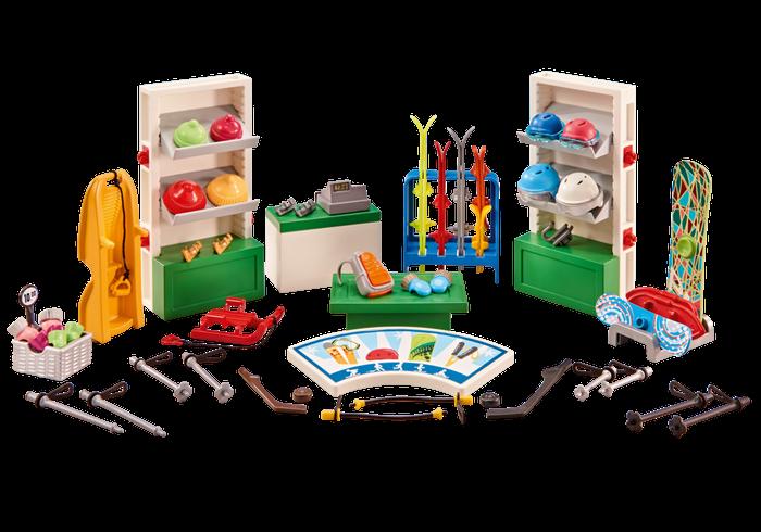 Obchod se zimními sportovními potřebami 6570 Playmobil Playmobil