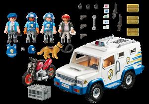 Obrněný vůz 9371 Playmobil Playmobil