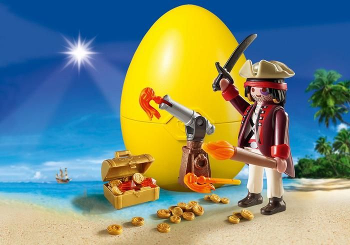 Pirát s kanónem 9415 Playmobil Playmobil