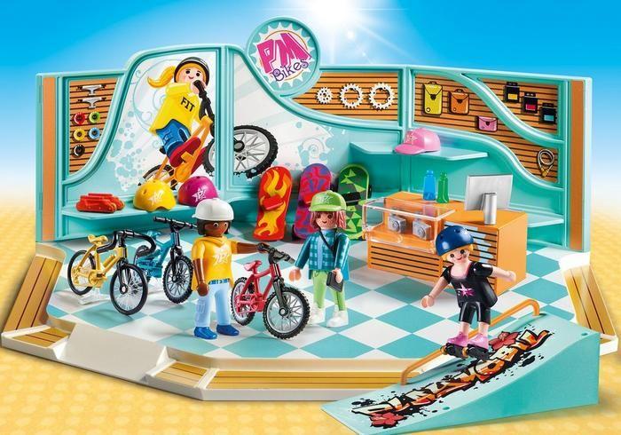 Prodejna kol a skateboardů 9402 Playmobil Playmobil