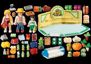 Prodejna zdravé výživy 9403 Playmobil Playmobil