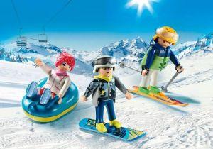 Rekreační lyžaři 9286