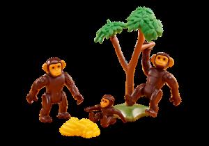 Rodina šimpanzů 6542