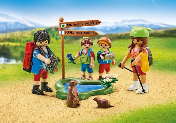 Rodina v horách 6536 Playmobil Playmobil