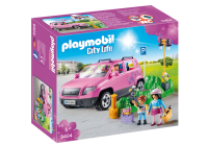 Rodinné auto s parkovištěm 9404 Playmobil Playmobil