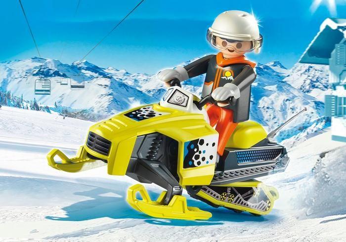 Sněžný skútr 9285 Playmobil Playmobil