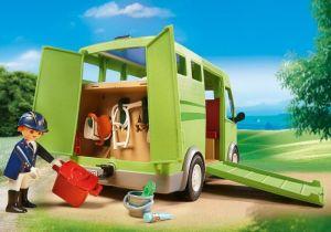 Vůz pro přepravu koní 6928 Playmobil Playmobil