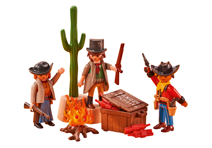 Western bandité 6546 Playmobil Playmobil