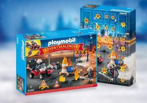 """Adventní kalendář """"Hasiči na staveništi"""" 9486 Playmobil Playmobil"""