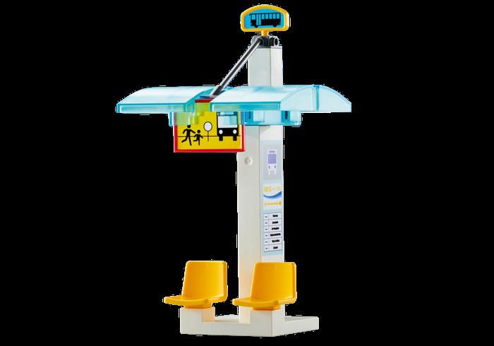 Autobusová zastávka 9813 Playmobil Playmobil