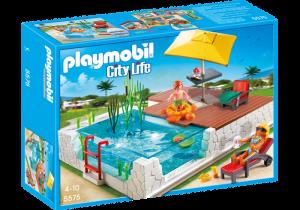 Bazén do Moderní vily 5575 Playmobil Playmobil
