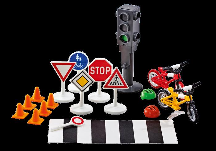 Bezpečnost silničního provozu 9812 Playmobil Playmobil