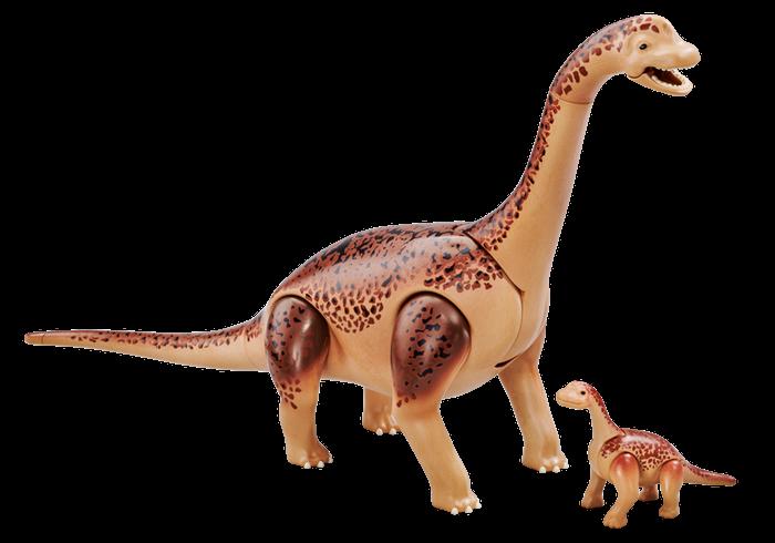 Brachiosaurus s mládětem 6595 Playmobil Playmobil