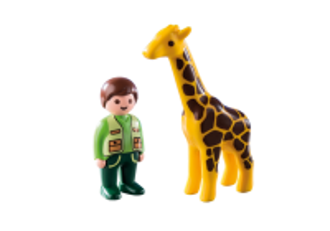 Chovatel se žirafou (1.2.3) 9380 Playmobil Playmobil