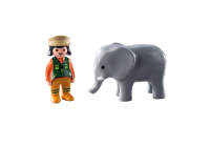 Chovatelka se slonem (1.2.3) 9381 Playmobil Playmobil