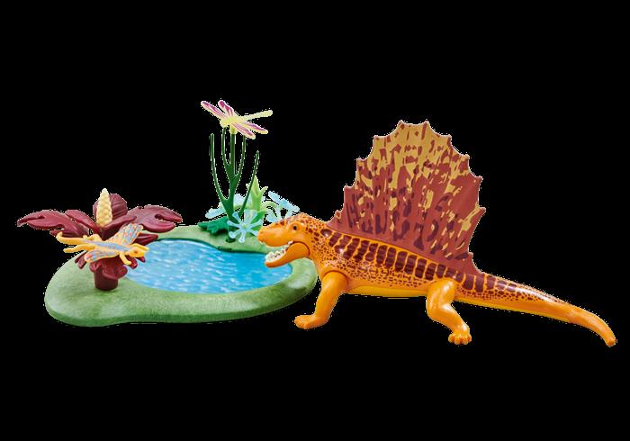 Dimetrodon u jezírka 6596 Playmobil Playmobil