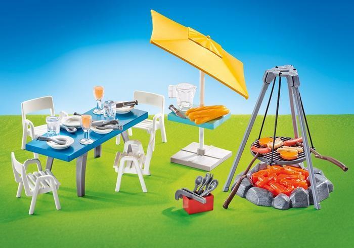 Grilování s posezením 9818 playmobil Playmobil