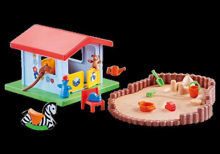 Hrací domeček s pískovištěm 9814 Playmobil Playmobil