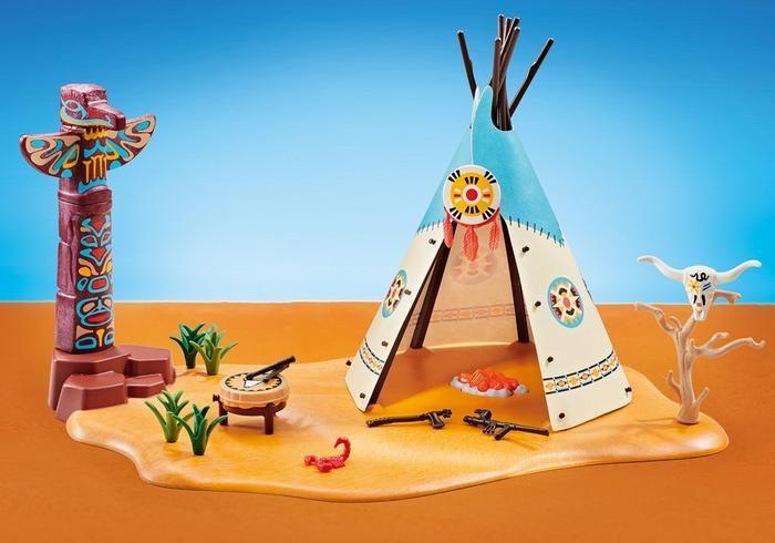 Indiánský tábor 6582 Playmobil Playmobil
