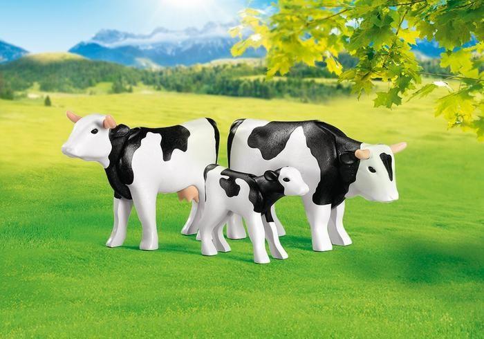 Kráva, býk a tele 7892 Playmobil Playmobil