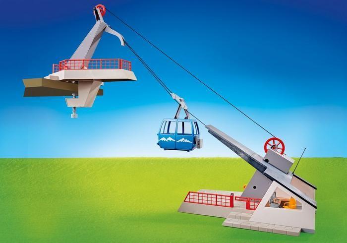 Lanovka s horskou stanicí 9830 Playmobil Playmobil