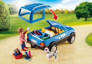 Mobilní psí salón 9278 Playmobil Playmobil