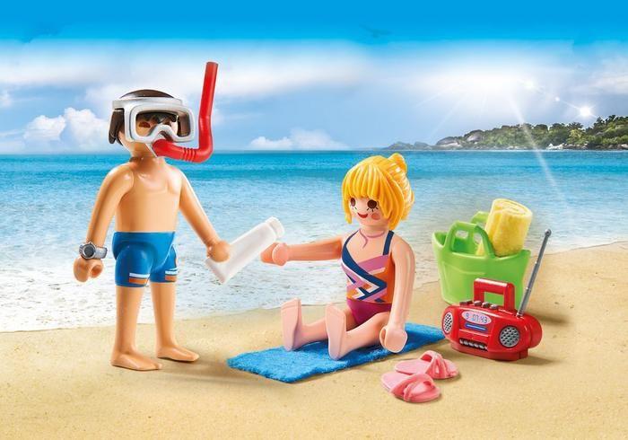 Návštěvníci pláže 9449 Playmobil Playmobil