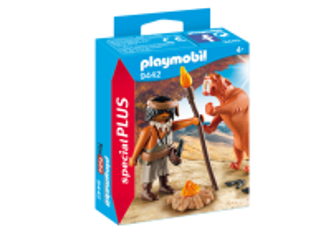 Neandrtálec a šavlozubý tygr 9442 Playmobil Playmobil