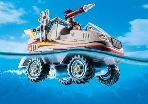 Obojživelný vůz zásahového týmu 9364 Playmobil Playmobil