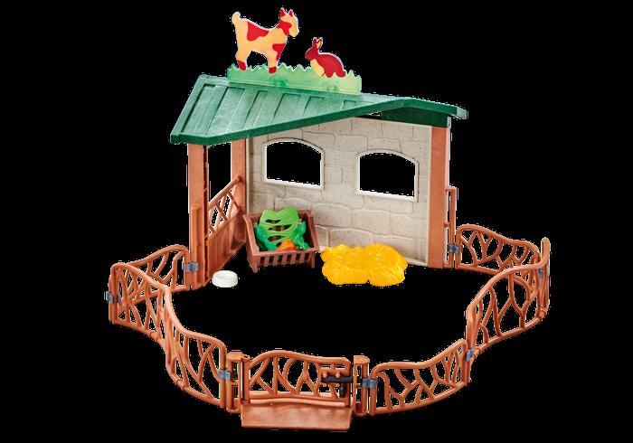 Ohrada s přístřeškem 9815 Playmobil Playmobil