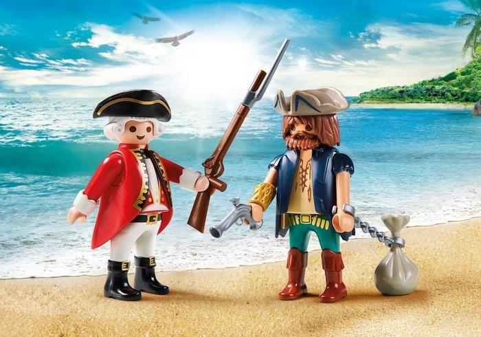 Pirát a voják 9446 Playmobil Playmobil