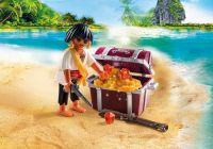 Pirát s pokladem 9358 Playmobil Playmobil
