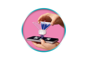Playmogram 3D Ledová královna s kolouškem 9350 Playmobil Playmobil
