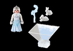 Playmogram 3D Ledová královna s králíčky 9352 Playmobil Playmobil