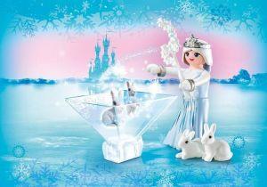 Playmogram 3D Ledová královna s králíčky 9352