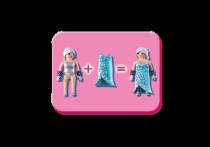 Playmogram 3D Ledová královna s polární liškou 9353 Playmobil Playmobil