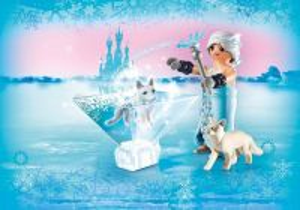 Playmogram 3D Ledová královna s polární liškou 9353