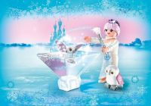 Playmogram 3D Ledová královna se sovičkou 9351