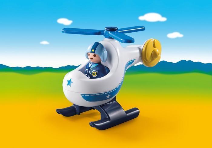 Policejní vrtulník (1.2.3) 9383 Playmobil Playmobil