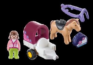Povoz s koníkem (1.2.3) 9390 Playmobil Playmobil