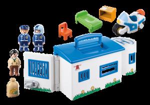 Přenosná policejní stanice (1.2.3) 9382 Playmobil Playmobil