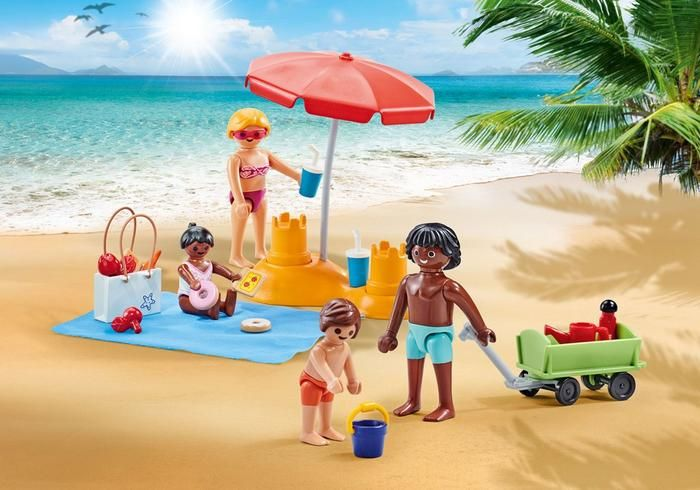 Rodina na pláži 9819 Playmobil Playmobil