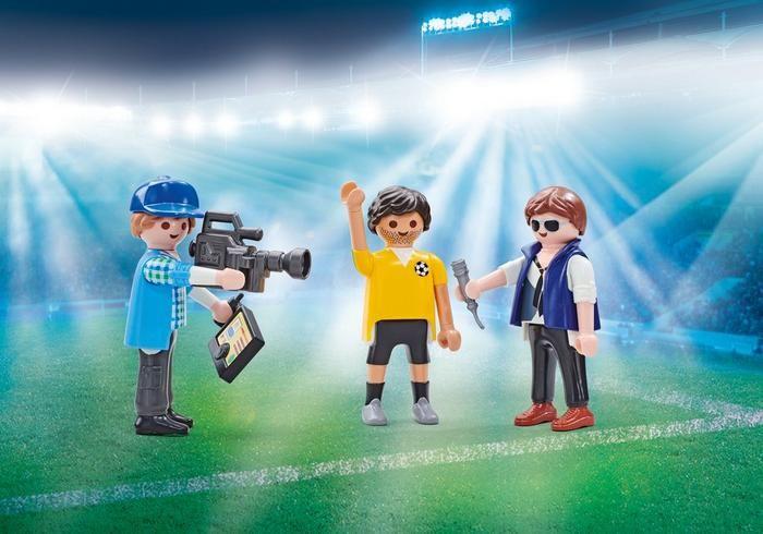 Rozhovor s fotbalistou 9825 Playmobil Playmobil