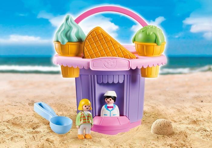 Sada na písek Zmrzlinářství 9406 Playmobil Playmobil