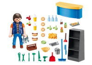 Školník 9457 Playmobil Playmobil