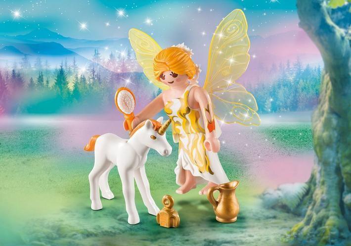Sluneční víla s malým jednorožcem 9438 Playmobil Playmobil