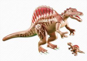 Spinosaurus s mládětem 6267