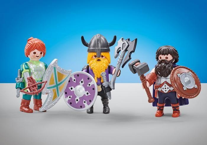 Tři bojovníci 6588 Playmobil Playmobil