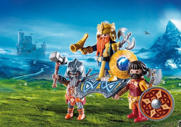 Trpasličí král 9344 Playmobil Playmobil